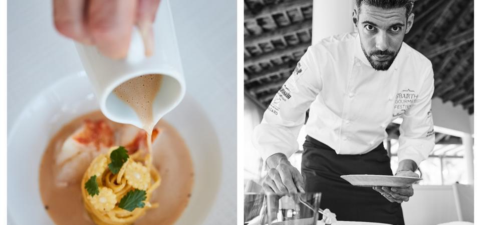 St. Bart's Gourmet Festival welcomed Michelin starred Guillaume Goupil.
