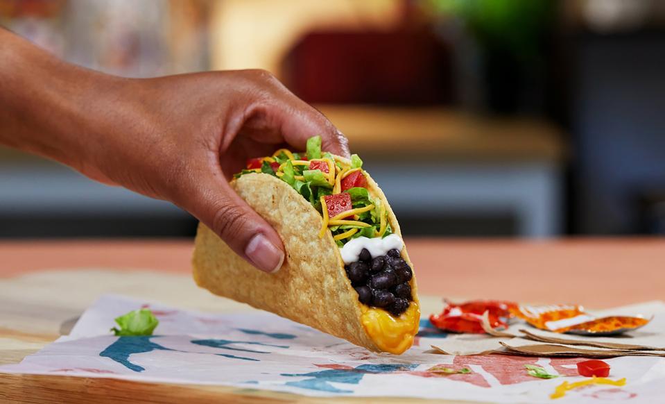 The Cantina Crispy Melt Taco.