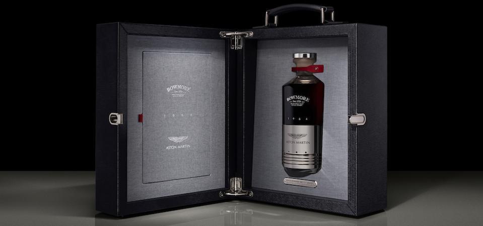 Black Bowmore Aston Martin Scotch whisky rare expensive