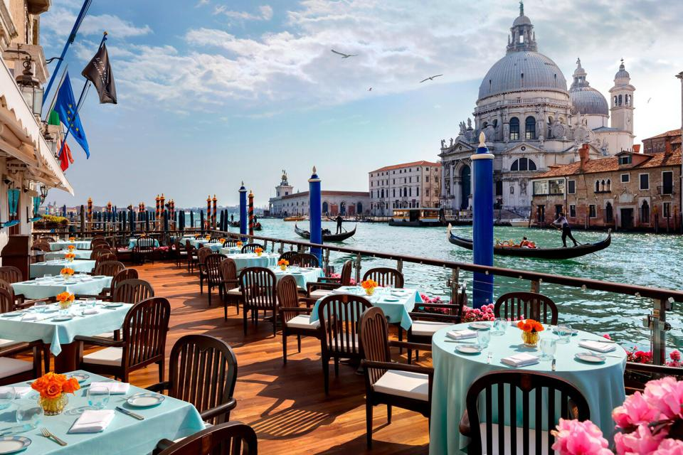 The Gritti Palace Venice Terrasse
