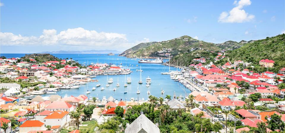 Gustavia Harbour, St. Barts.