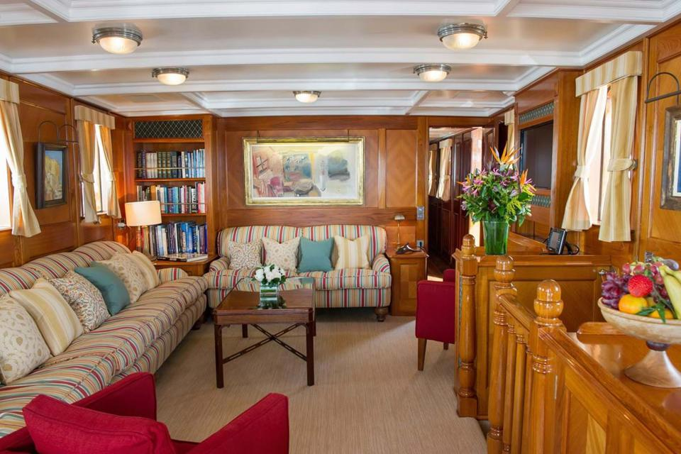 Step back in time aboard Fair Lady in Scotland.