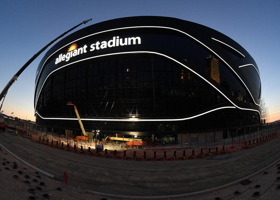 Raiders won't have fans at Allegiant Stadium in Las Vegas during 2020 NFL season.