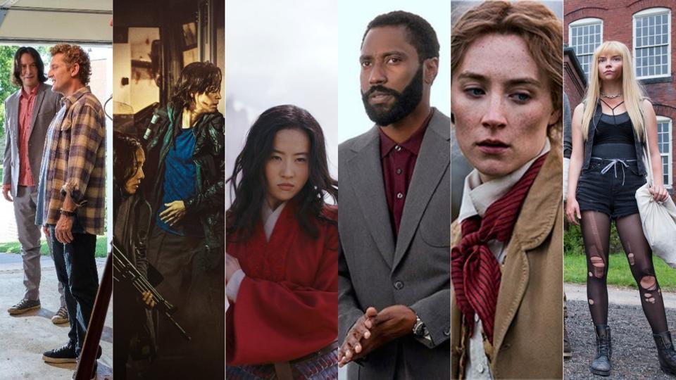 'Bill & Ted Face the Music, 'Peninsula,' 'Mulan,' 'Tenet,' 'Little Women' and 'The New Mutants'