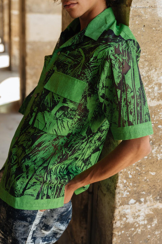 TAAKK Sheered Jungle Shirt