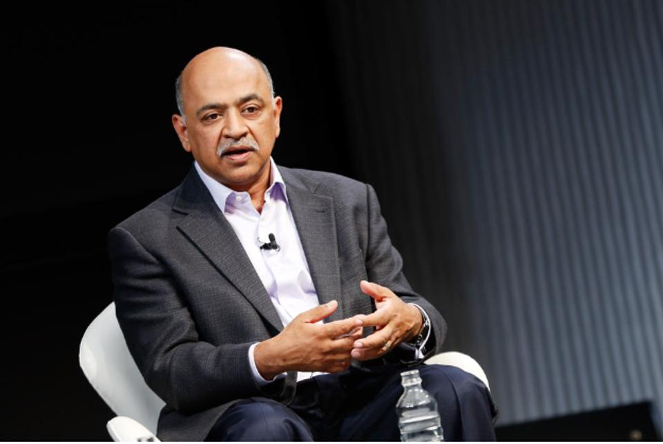 NEW YORK, NY - JUNE 16:  SVP and Director at IBM Research Arvind Krishna speaks on stage during the 2016 Wired Business Conference on June 16, 2016, in New York City.