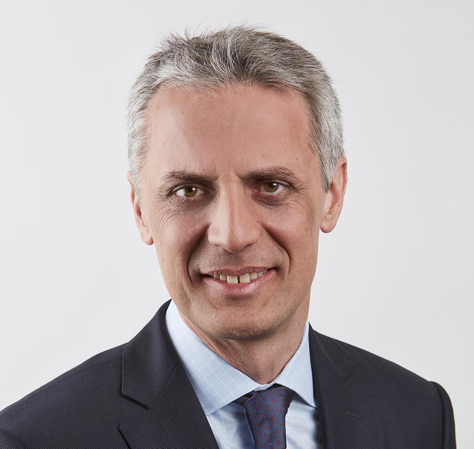 Portrait of Costis Maglaras, Dean of Columbia Business School