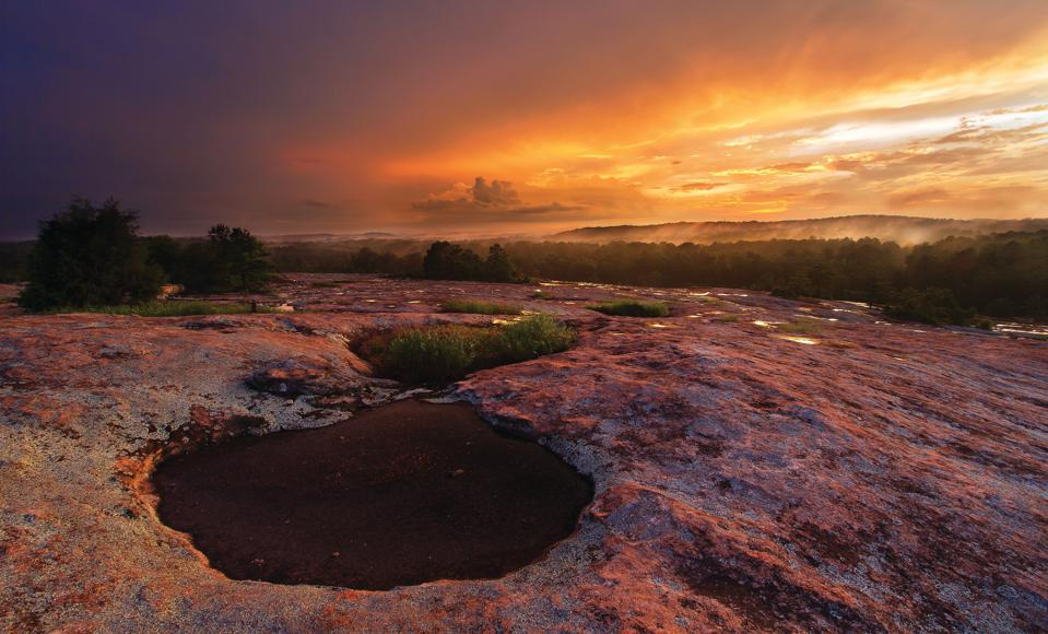 Arabia Mountain National Heritage Area in DeKalb County, Georgia