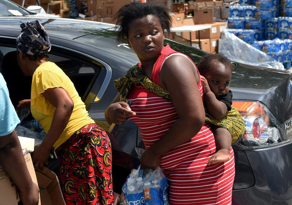 Food Bank Provides Assistance to Needy Families