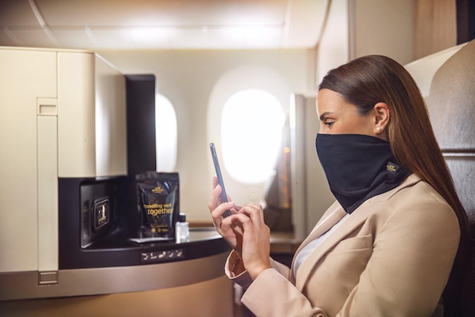 Etihad Airways snood
