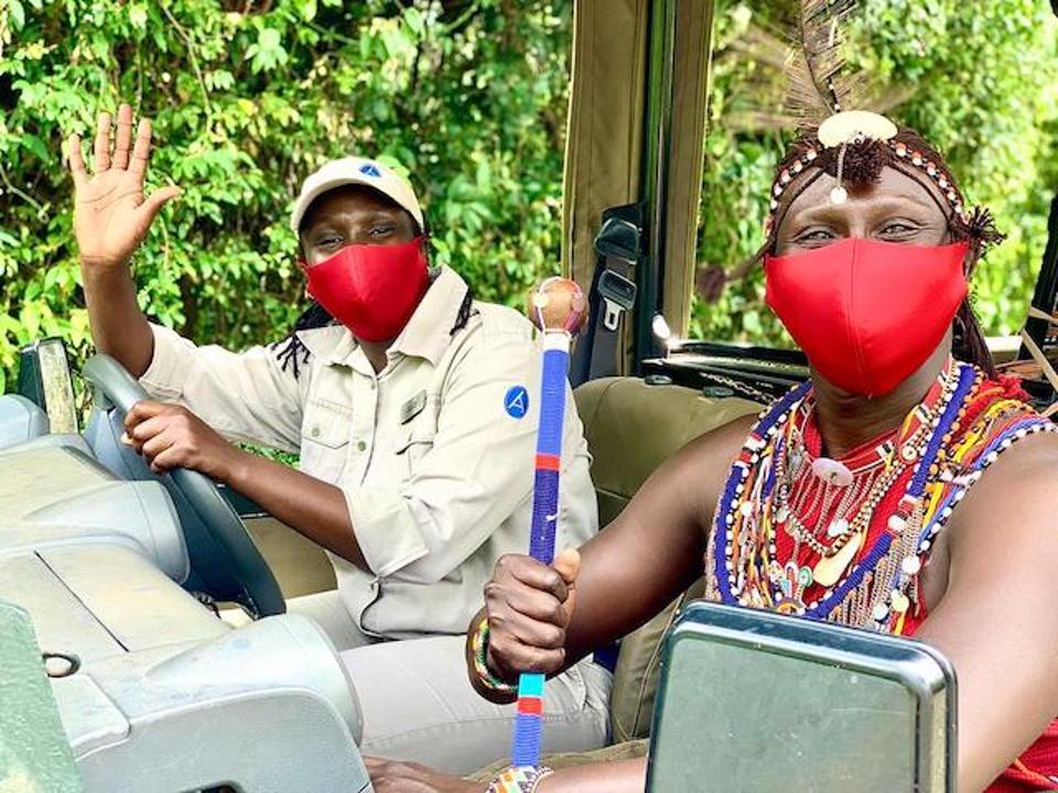 Red Angara Mara masks