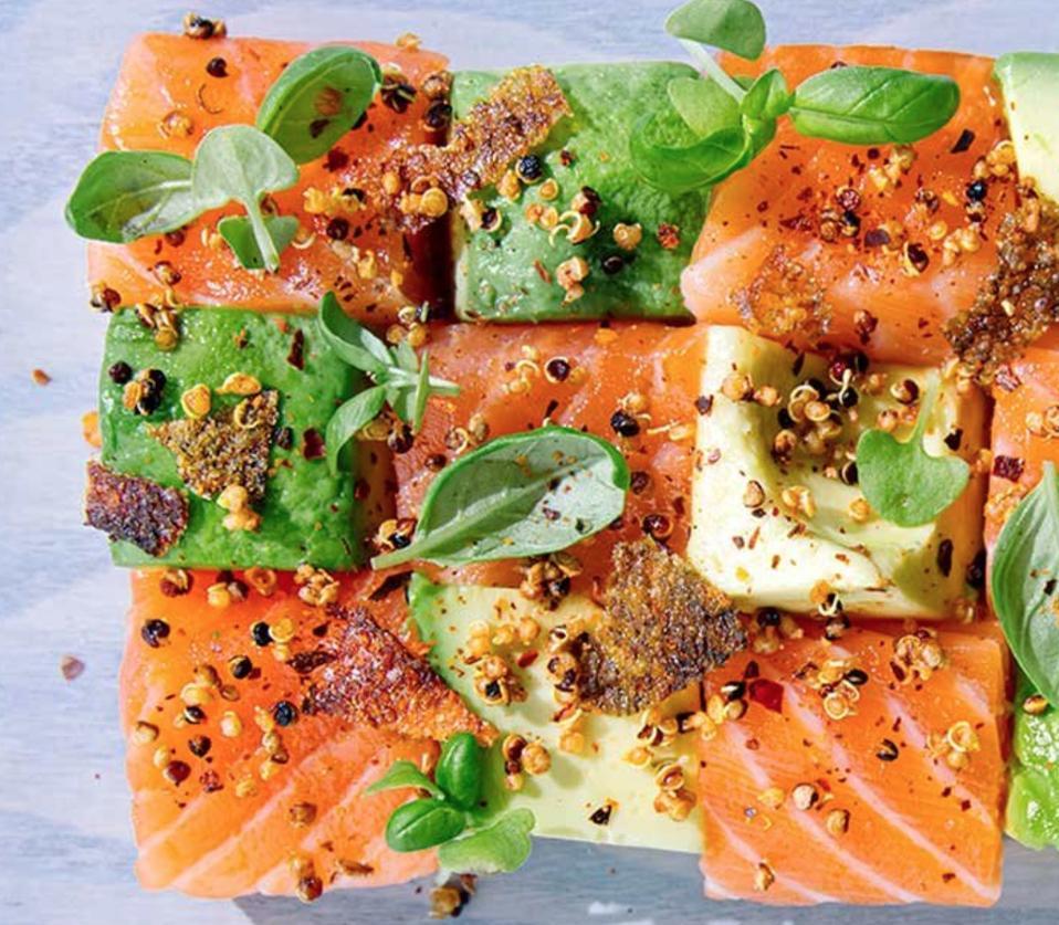 covid19, coronavirus, fresh fish, salmon, raw fish, sushi