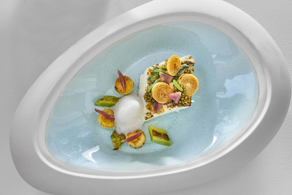 La Vague d'Or by Chef Arnaud Donckele