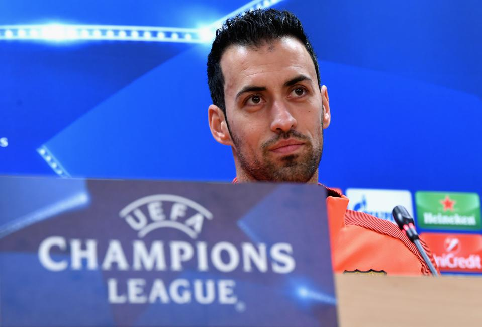 Sergio Busquets has spoken on FC Barcelona's chances in the Champions League.