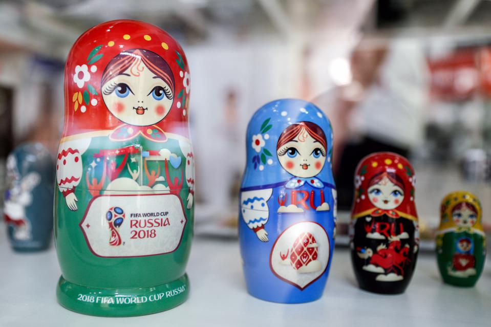 First official shop selling 2018 FIFA World Cup merchandise in Kaliningrad