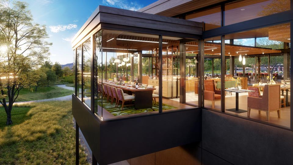 From a treehouse-inspired, glass-encased space suspended above the earth to a warmly appointed dining room complete with its own outdoor terrace, Montage Healdsburg offers several elevated private dining opportunities at Hazel Hill.