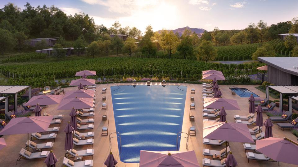 Montage Healdsburg will offer a wide variety of outdoor adventure and one-of-a-kind experiences throughout its 258-acre property