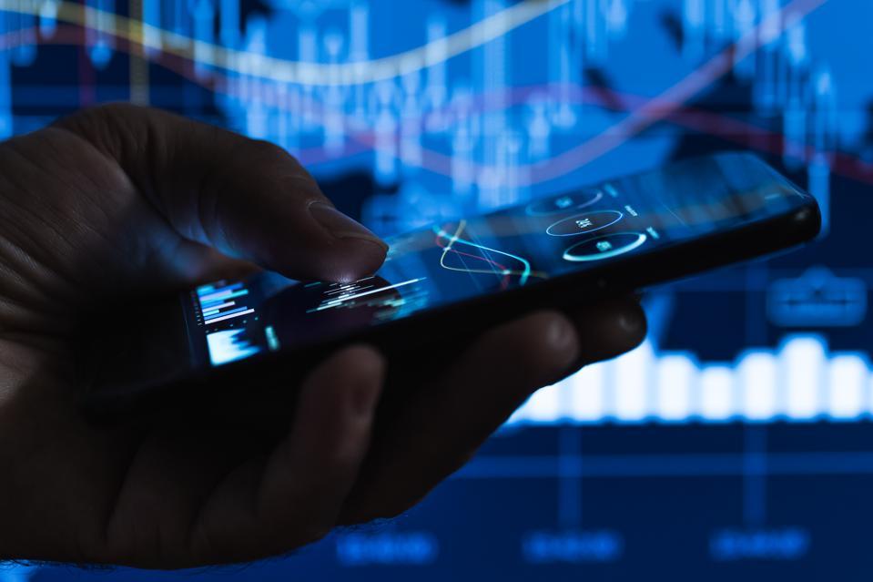 Stock Market data on smart phone