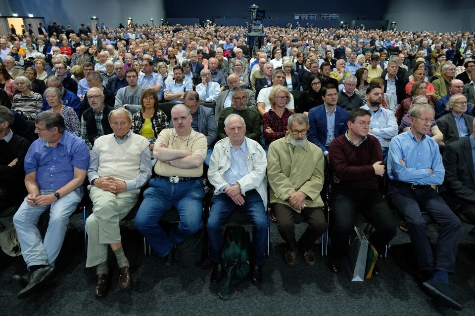 Daimler AG Holds General Shareholders Meeting