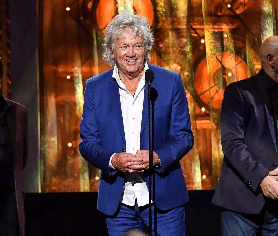 John Lodge at 33rd Annual Rock & Roll Hall of Fame Induction Ceremony - Show