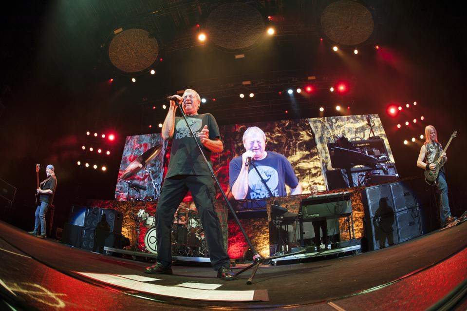 Deep Purple Performs At The Barclaycard Arena Birmingham