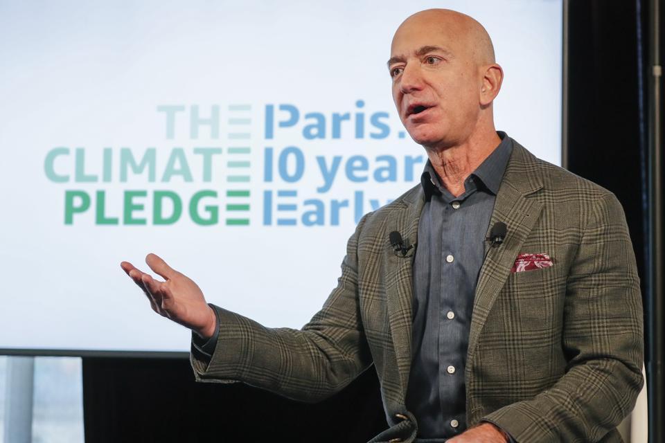 Amazon cofunda The Climate Pledge