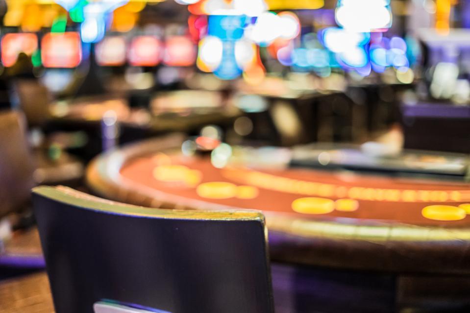 Casino Interior Defocused