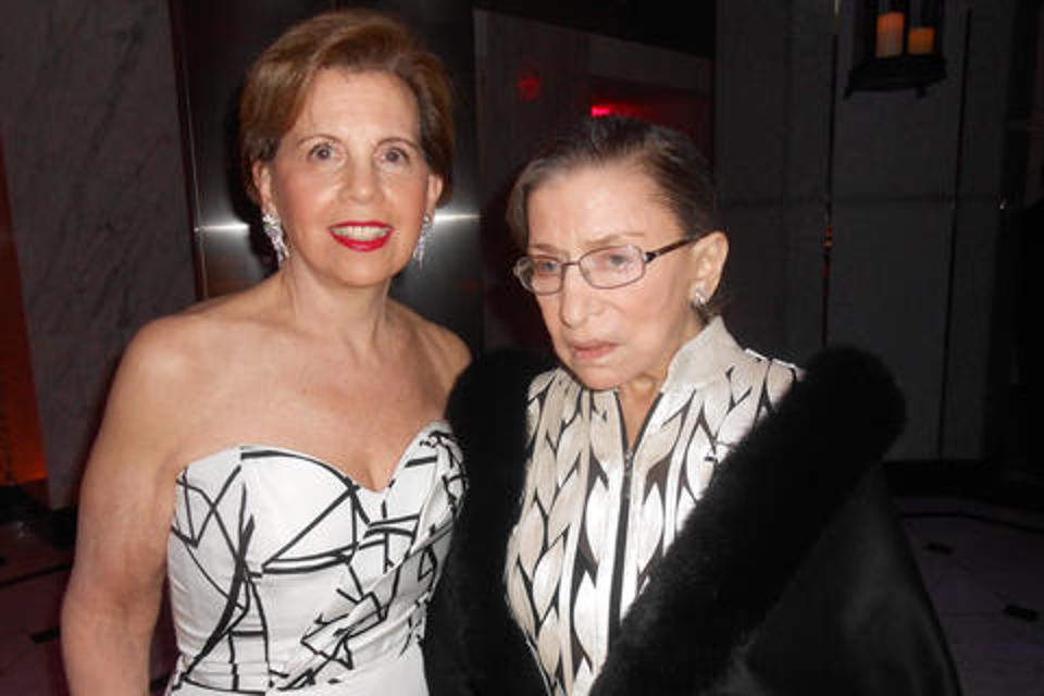Adrienne Arsht and Supreme Court Justice