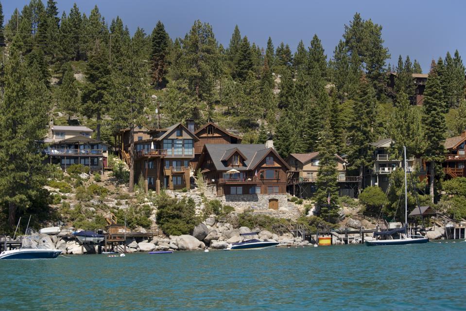 Lake Tahoe Lakefront Homes,