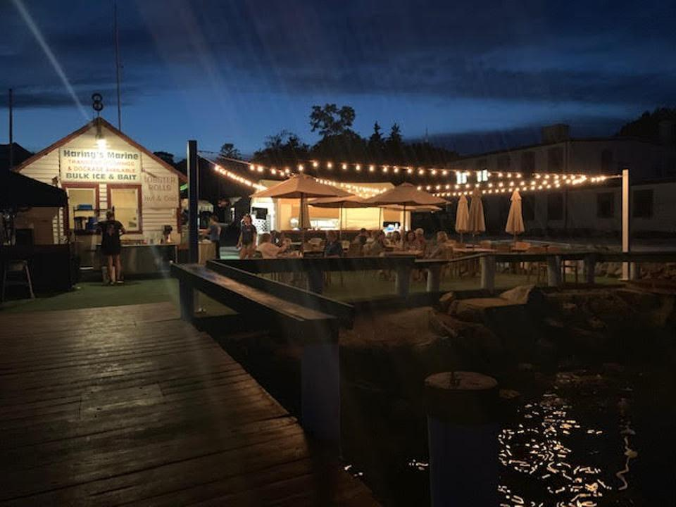 With Ford's Lobster's waterside location, you can practically see your dinner being caught before being served.