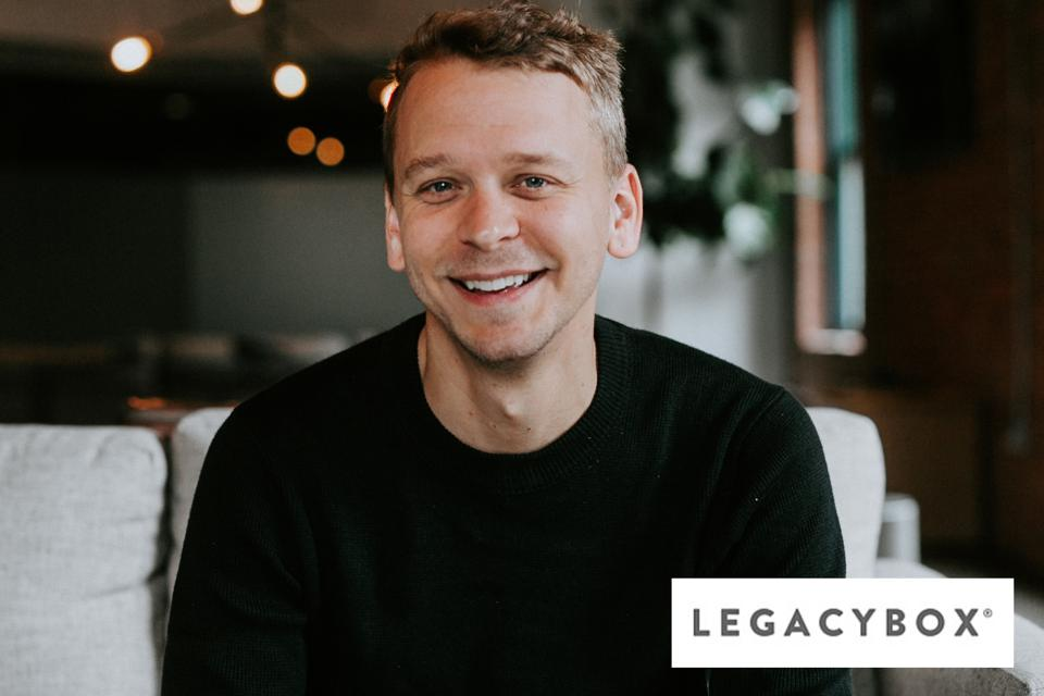 Nick Macco, co-founder of Legacybox.