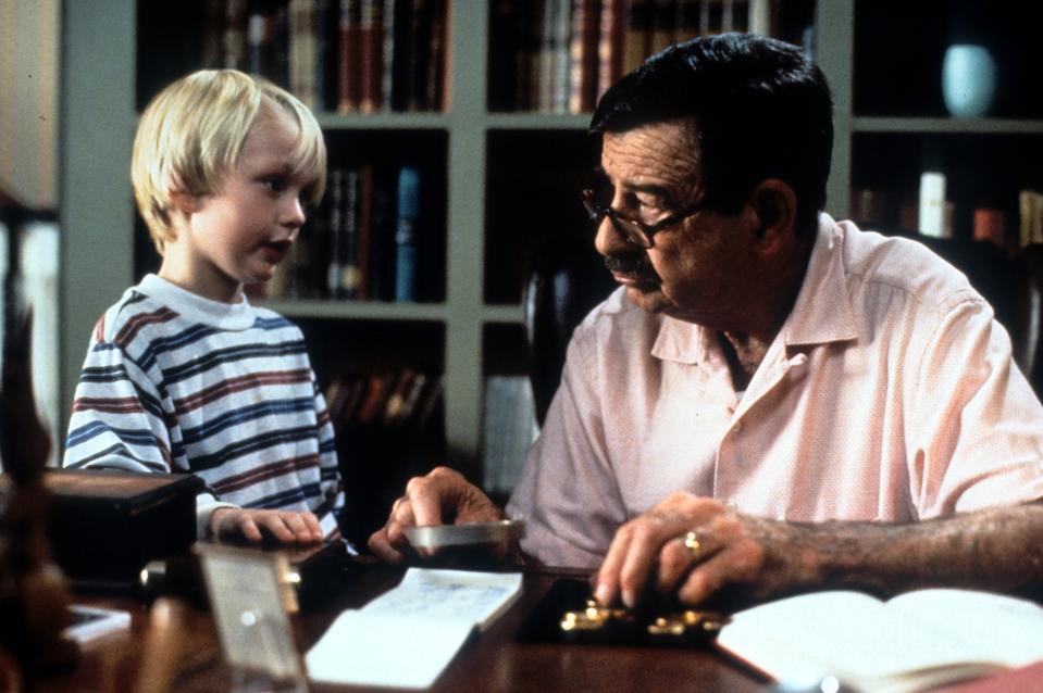 Mason Gamble And Walter Matthau In 'Dennis the Menace'