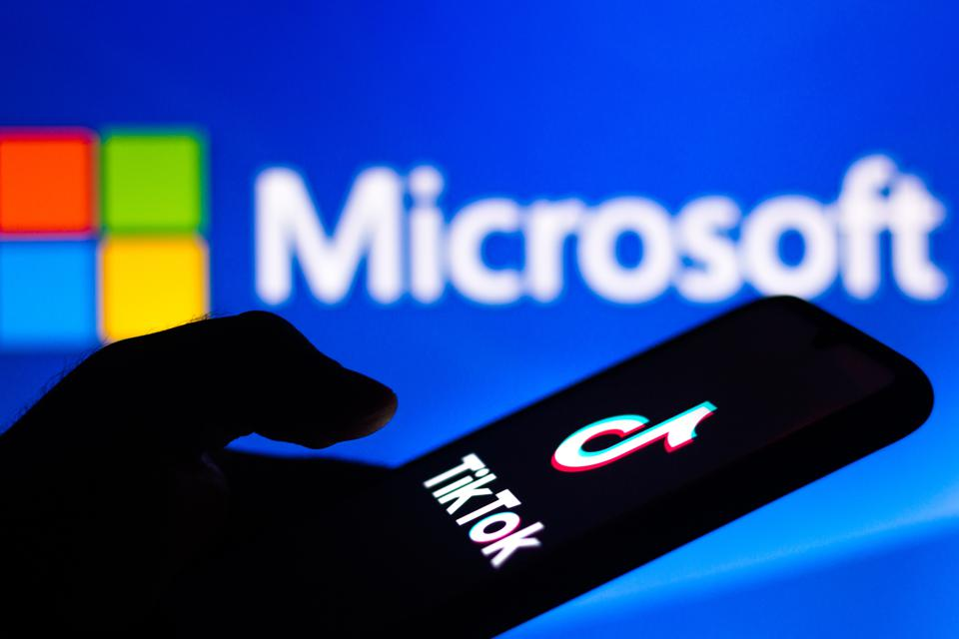 Microsoft potentially buying TikTok image