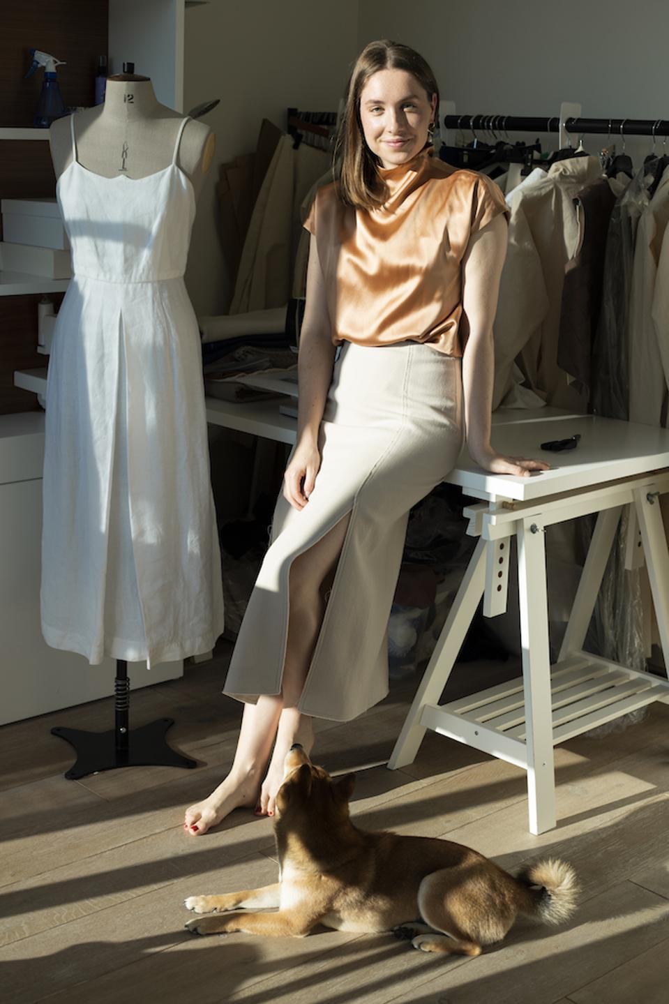 Emerging designer Hanna Fielder