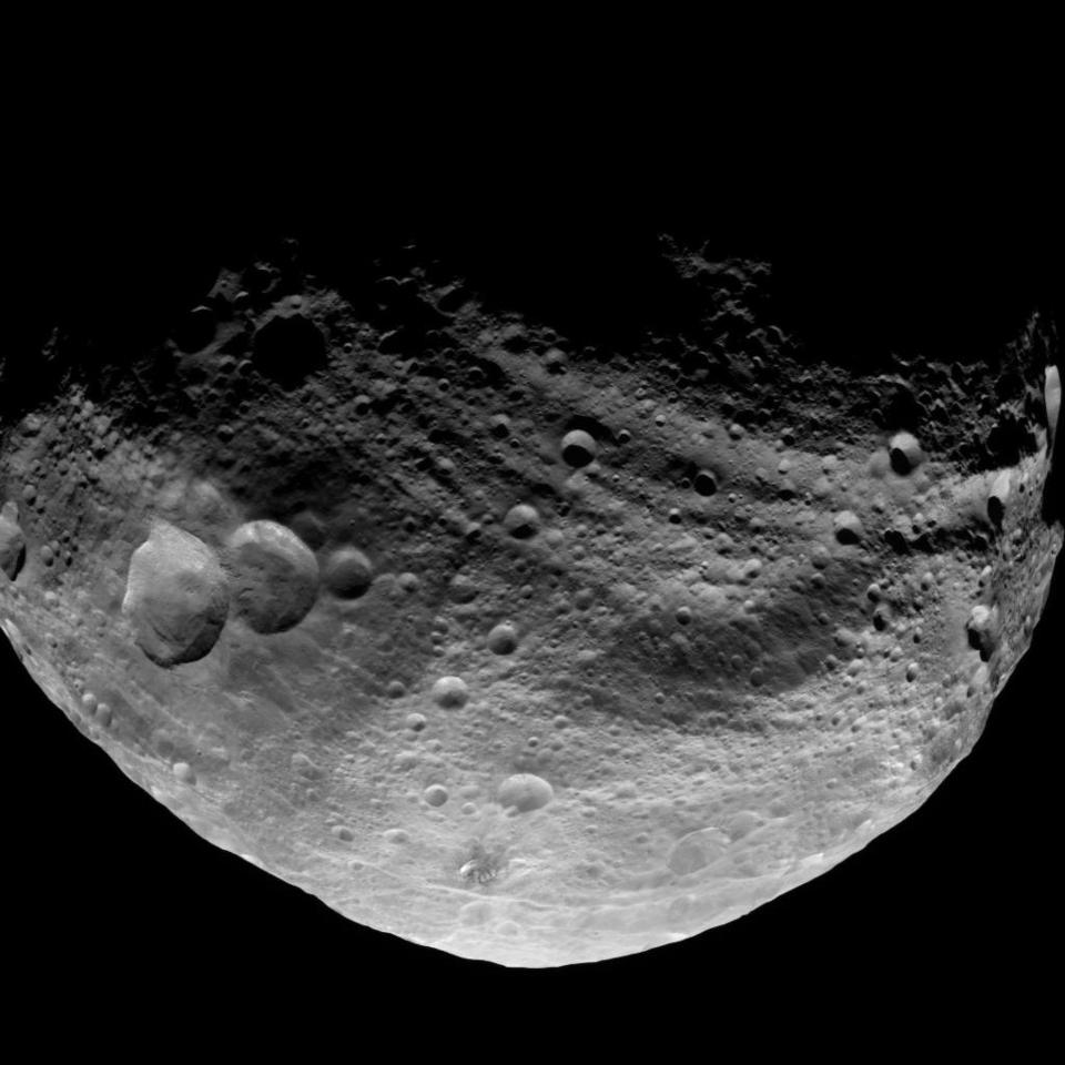 Asteroid The Size Of Rhode Island