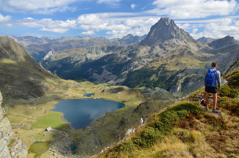 Pic du Midi d'Ossau in the Pyrenees