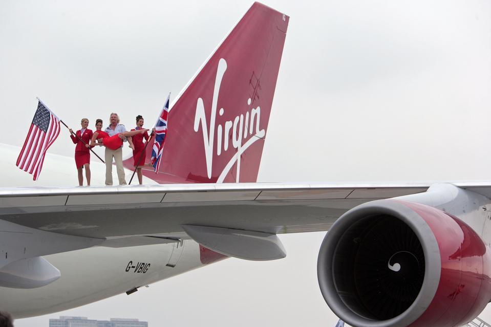 Miami Airport Event with Richard Branson – 25th Anniversary of London/Miami Route Anniversary of London/Miami Route