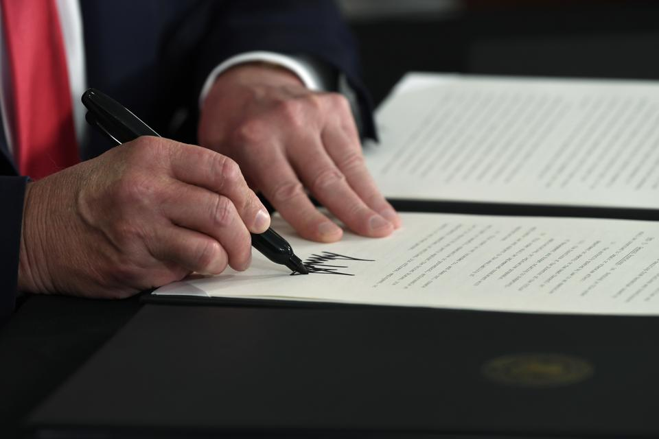 Trump Extends Student Loan Relief Provisions Through The End Of The Year