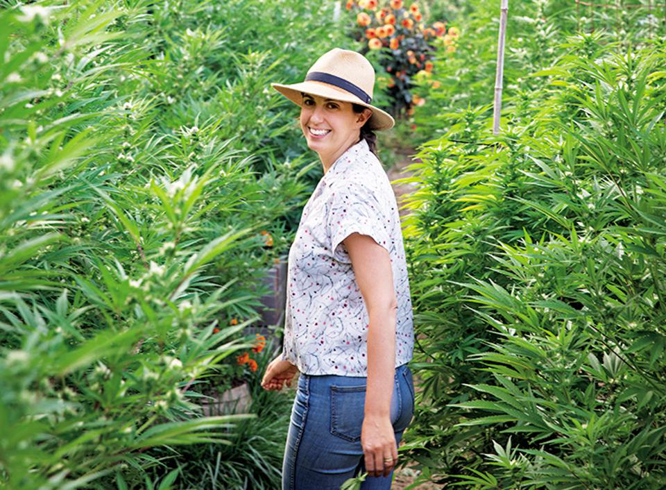 Johanna Silver, gardening experts, cannabis cultivation, ″Growing Weed in the Garden″