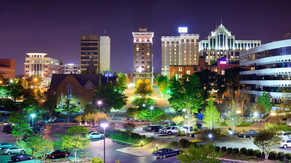 Downtown Greenville, South Carolina