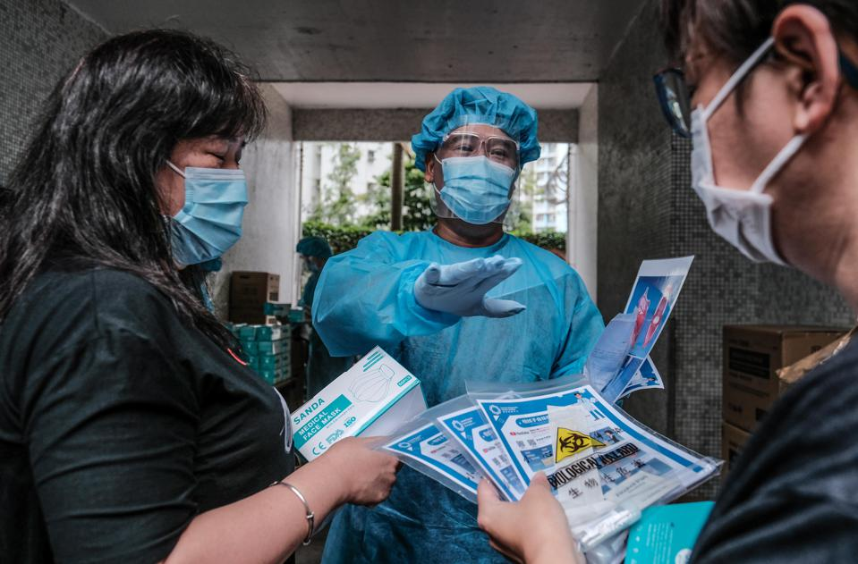 Daily Life In Hong Kong Amid The Coronavirus Outbreak