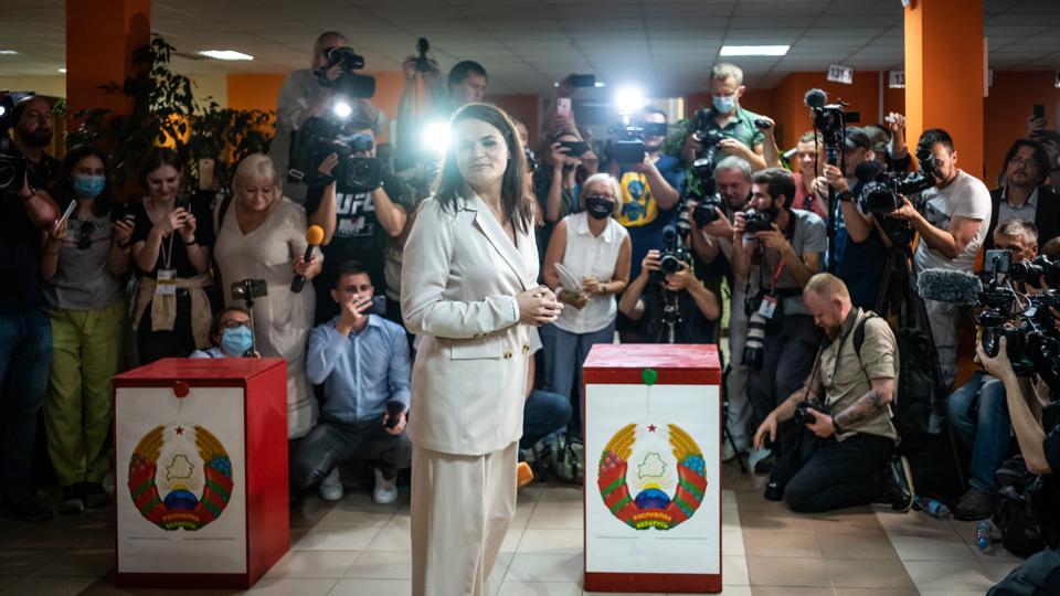 Belorusians Head To Polls As Lukashenko Seeks Sixth Term