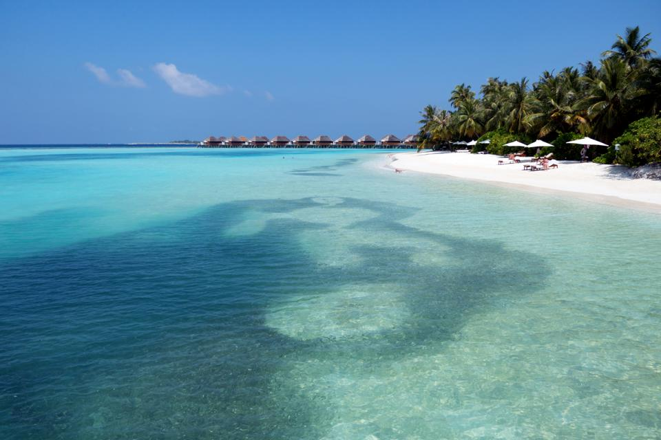 Beach and island resort in the Maldives where Americans can travel during Covid