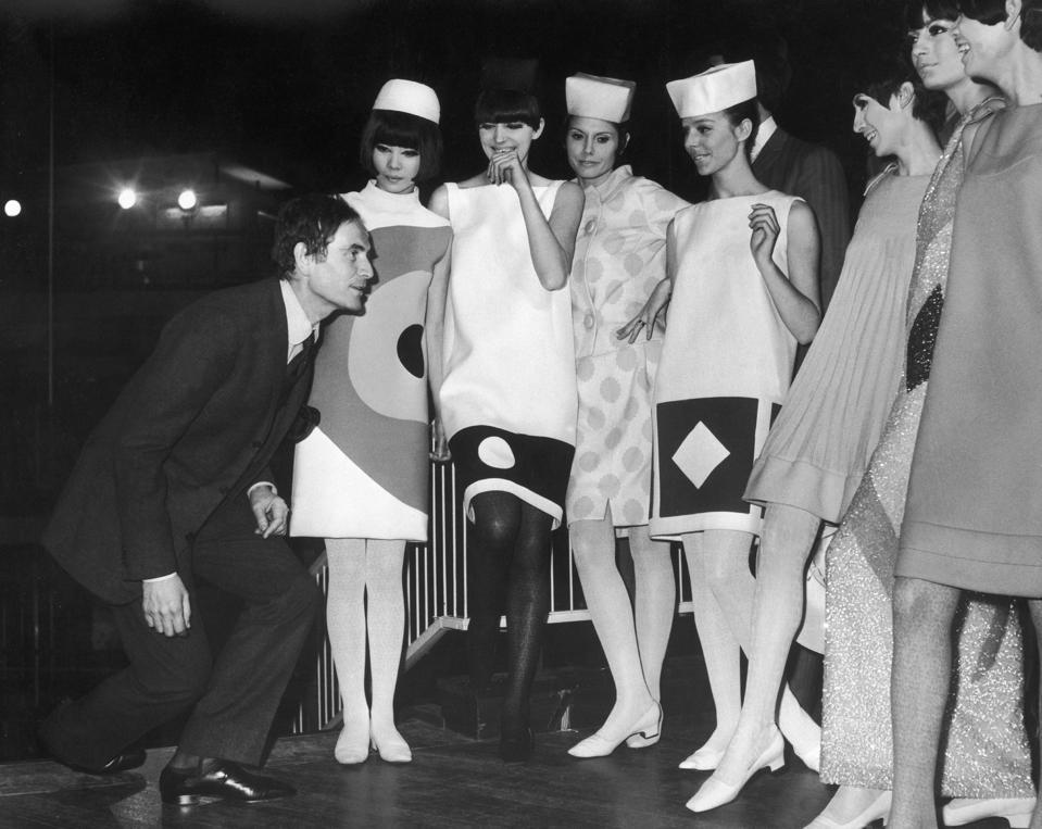 Celebrity Fashion: Vogue: Pierre Cardin'S Units Rehearsing