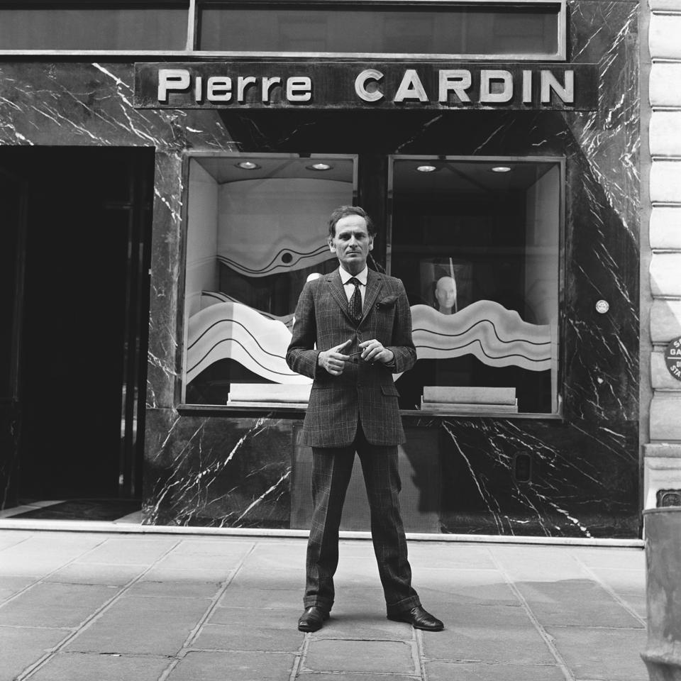 Celebrity Fashion: Pierre Cardin