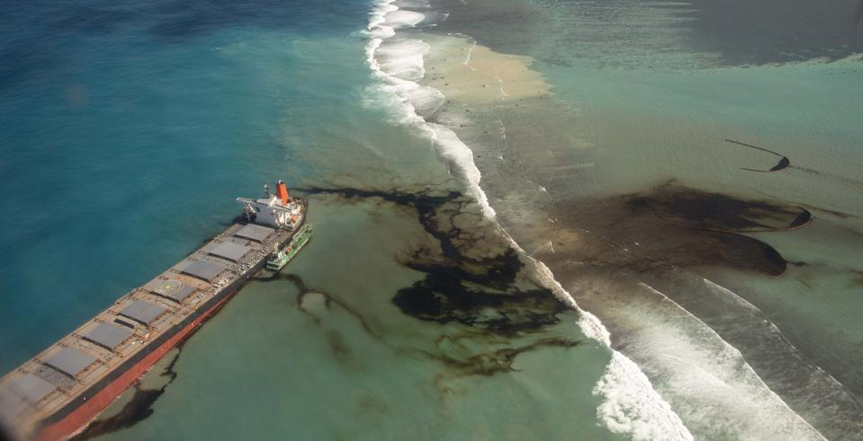 The Wakashio was carrying over 1 million gallons of oil when it hit the coral reefs of Mauritius this summer. The spill and response was made worse by weak and ineffective enforcement of the IMO's own laws.