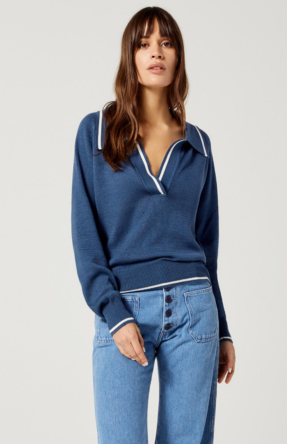 Veronica Polo Sweater by Alp N Rocks Late Summer/Early Fall Collection