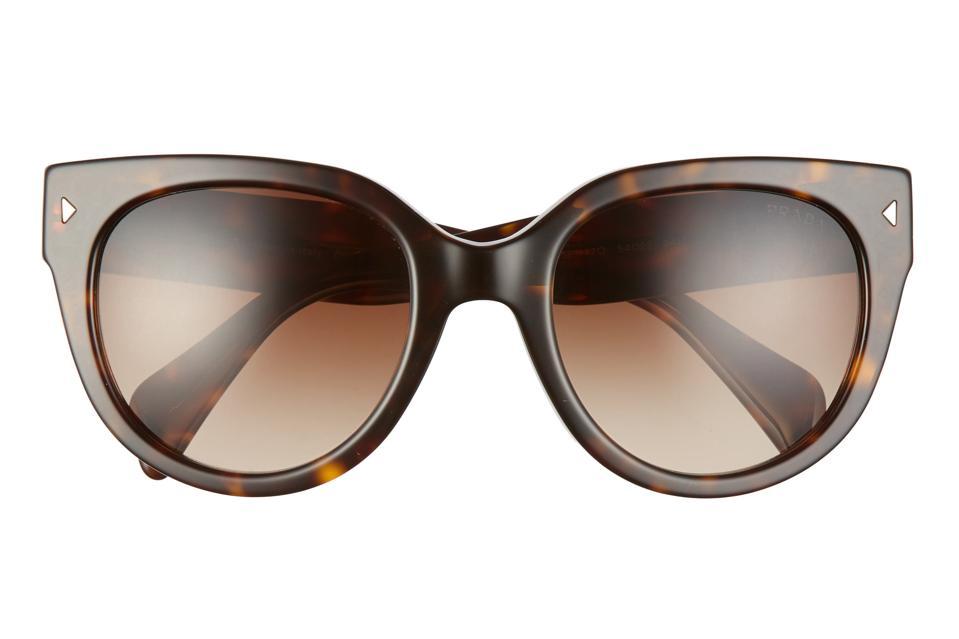 Prada Phantos 54mm Gradient Cat Eye  Sunglasses