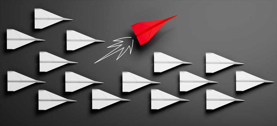 Paper planes - Thinking concept differently - Changing course - new ideas