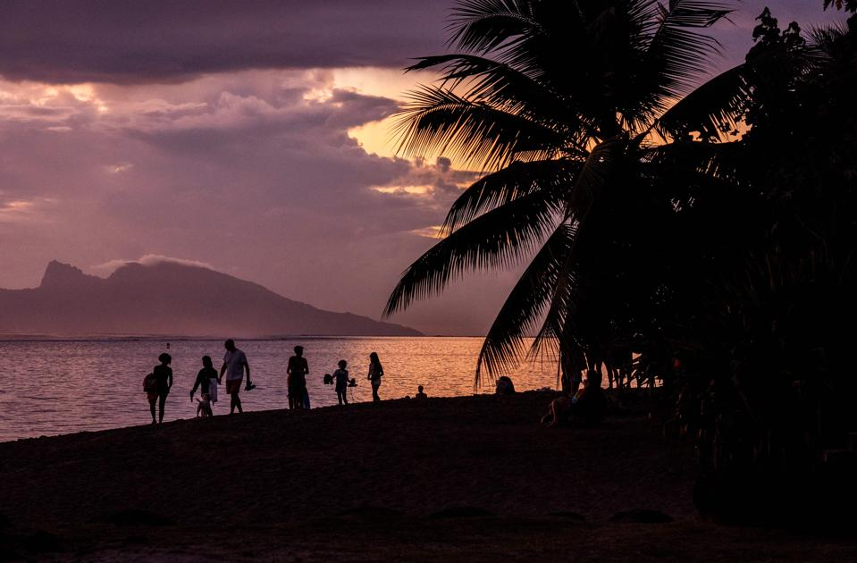 Tahiti French Polynesia open to American tourists during covid